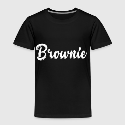 Brownie utforming blonde blonde gave festival - Premium T-skjorte for barn