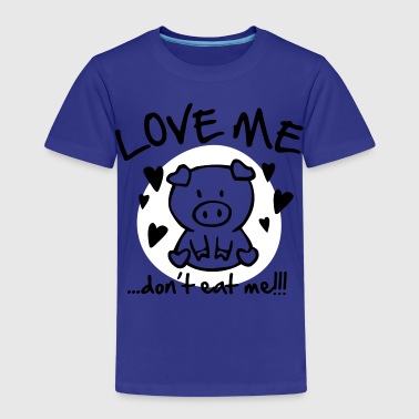 Love me, don't eat me - Kids' Premium T-Shirt