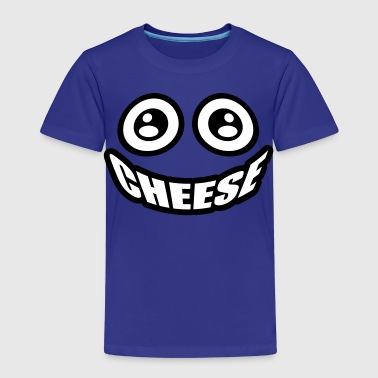Cheese | Smiley - Kinderen Premium T-shirt