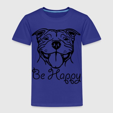 Stafford Happy ©  www.dog-power.nl - Kids' Premium T-Shirt