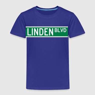 LINDEN BLVD SIGN - Kids' Premium T-Shirt
