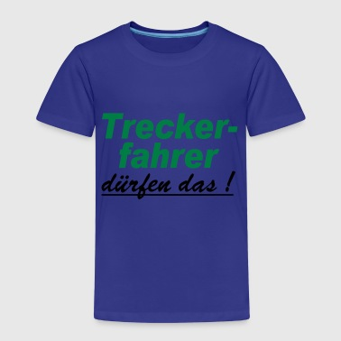 Treckerfahrer,Trecker,Fun - Kinder Premium T-Shirt