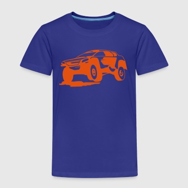 Rally, Rallye (1 color) - Kinder Premium T-Shirt