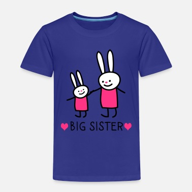 Sisters big sister (rabbits) - Kids' Premium T-Shirt