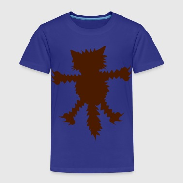 Clinging Cat - Kids' Premium T-Shirt