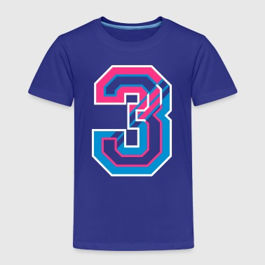 The Number Three  - Kids' Premium T-Shirt