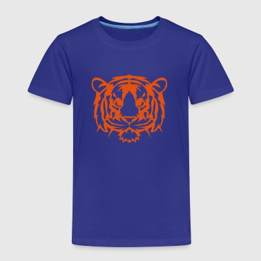 Tiger wildes Tier Tiere 1102 - Kinder Premium T-Shirt