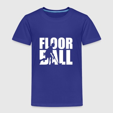 Floorball - Kinder Premium T-Shirt