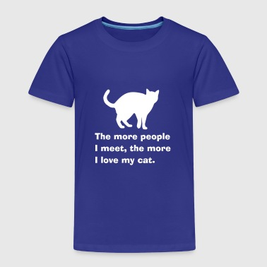 Cat people - katten - Kinderen Premium T-shirt