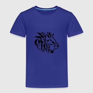 lion tribal tatouage dessin 14022 - T-shirt Premium Enfant