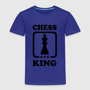 Chess King Schach - Kinder Premium T-Shirt