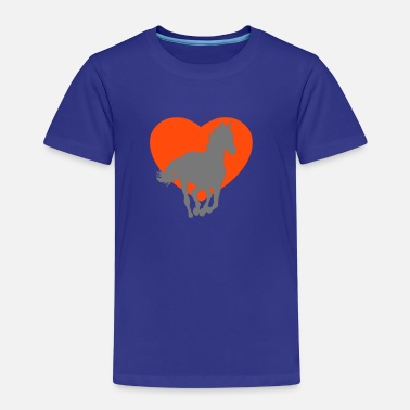 I love horses - Kids' Premium T-Shirt
