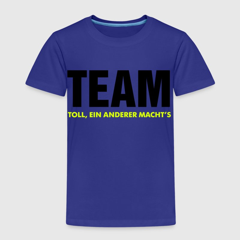 team toll ein anderer macht's crew teamplayer - Kinder Premium T-Shirt