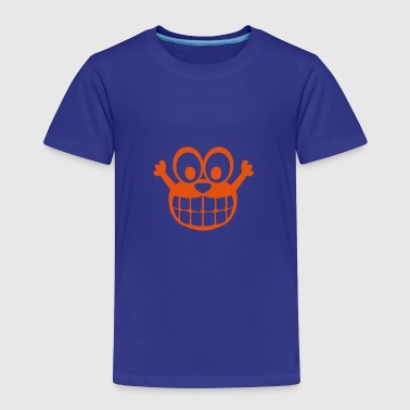 Happy comic smiley character - Kids' Premium T-Shirt