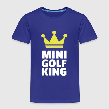 Minigolf King - Kinder Premium T-Shirt