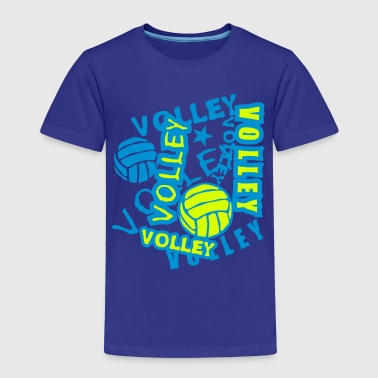 volleyball ballon mot texte 2202 - T-shirt Premium Enfant
