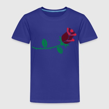 Blumen: Rose - Kinder Premium T-Shirt