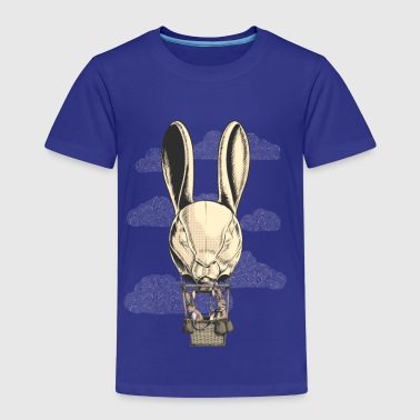 Hot Hare Balloon - Kinderen Premium T-shirt
