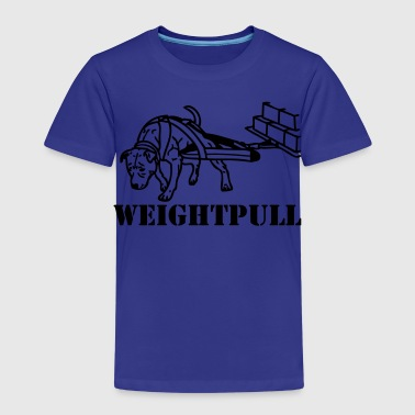 weightpull stafford ©  www.dog-power.nl - Kids' Premium T-Shirt
