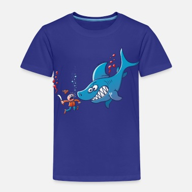 Stop Shark Finning Sharks are Furious, Stop Finning! - Kids' Premium T-Shirt
