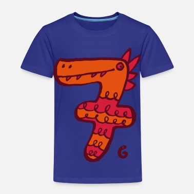 Sieben Monster sieben - Kinder Premium T-Shirt