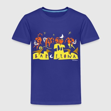 Modernist Art Barcelona - Kids' Premium T-Shirt