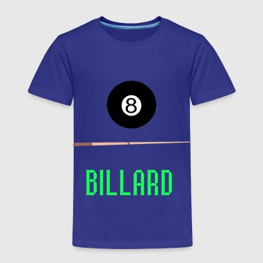 Pool Billard 8Ball Snooker Cue Hobby Gaver - Børne premium T-shirt