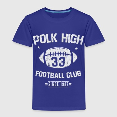 Polk High Football Club siden 1987 - Premium T-skjorte for barn