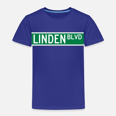 Linden LINDEN BLVD SIGN - Kids' Premium T-Shirt