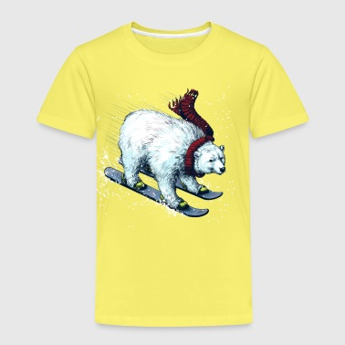 Polar Bear Ski - Kids' Premium T-Shirt