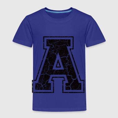 Point A in the grunge look - Kids' Premium T-Shirt