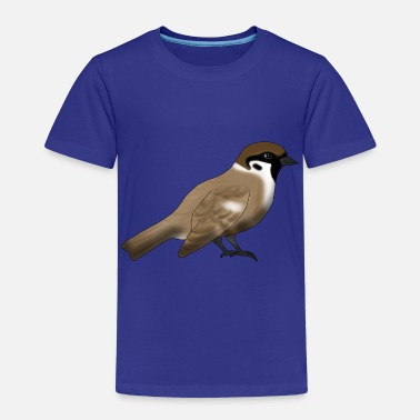 Koolmees Sparrow - Kinderen Premium T-shirt
