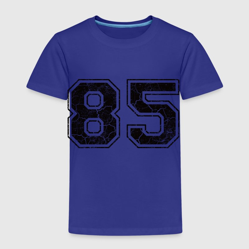 Number 85 in the grunge look - Kids' Premium T-Shirt