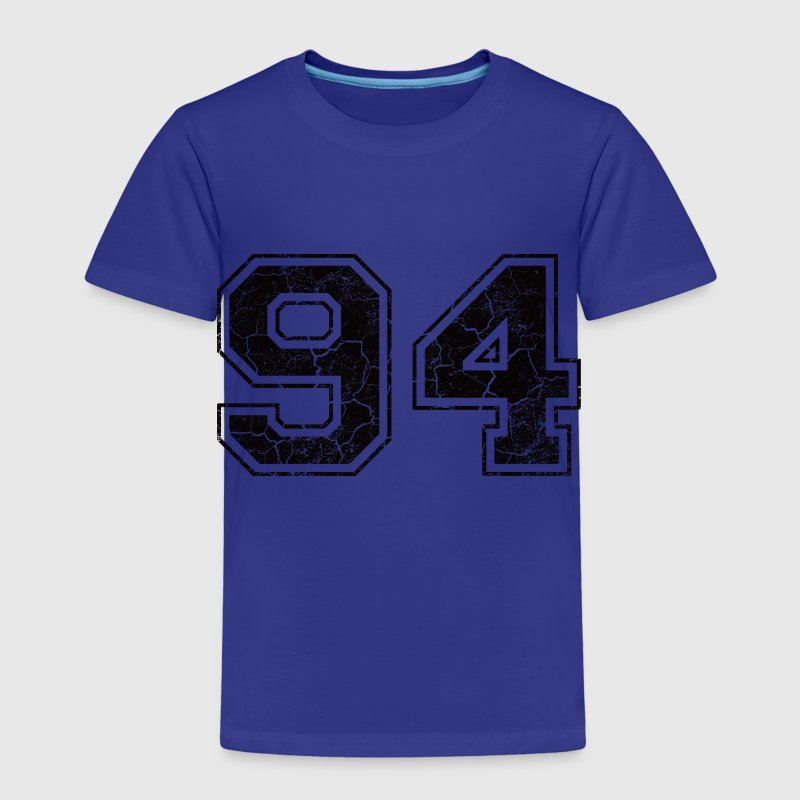 Number 94 in the grunge look - Kids' Premium T-Shirt