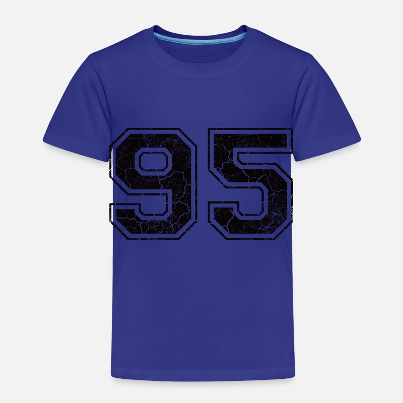 1995 T-Shirts - Number 95 in the grunge look - Kids' Premium T-Shirt royal blue