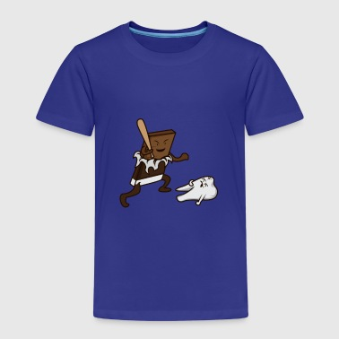 Deadly Deadly chocolate bat - Premium T-skjorte for barn