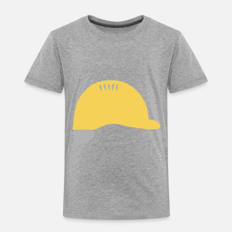 Bauarbeiterhelm Kinder Premium T Shirt Spreadshirt