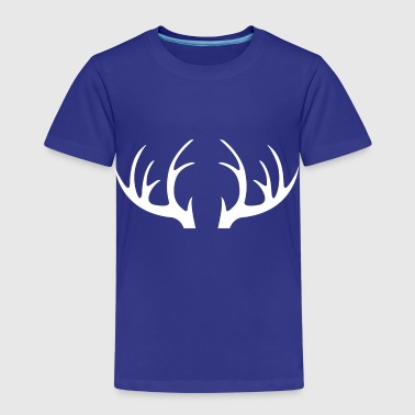 Outdoor · Wild · Deer · Geweih - Kinder Premium T-Shirt
