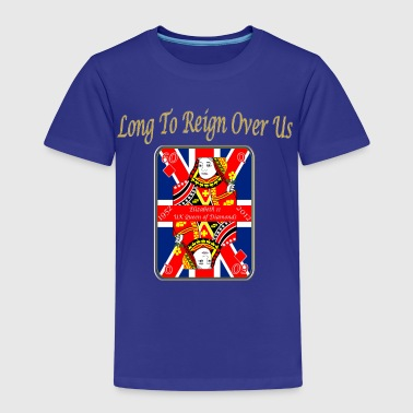 Diamonds queens diamond jubilee reign over us - Kids' Premium T-Shirt