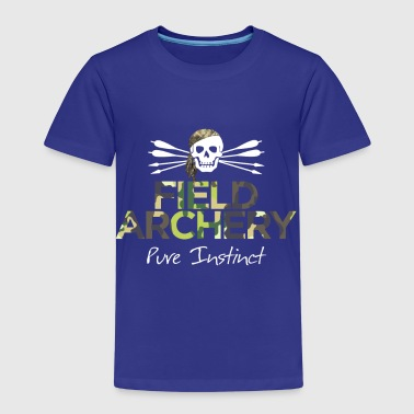 Field Archery - Pure Instinct - Kids' Premium T-Shirt