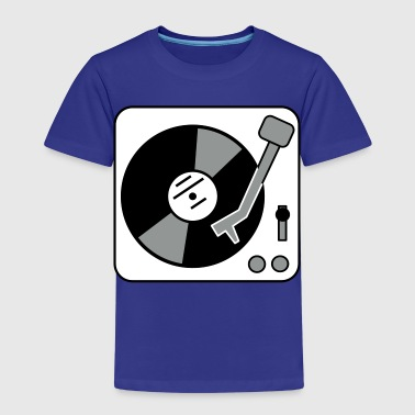 DJ Turntable - Camiseta premium niño