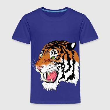 Kuma the Bengal Tiger - Kids' Premium T-Shirt