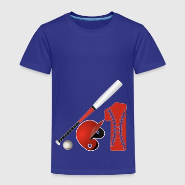 Baseball no. 1 meteli peli Major League - Lasten premium t-paita