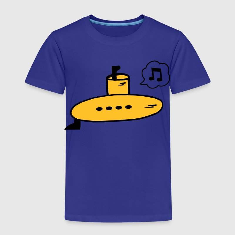 Singing Yellow Submarine - T-shirt Premium Enfant