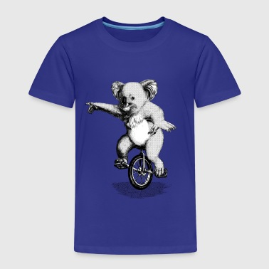 Koala Unicycle - Kinderen Premium T-shirt