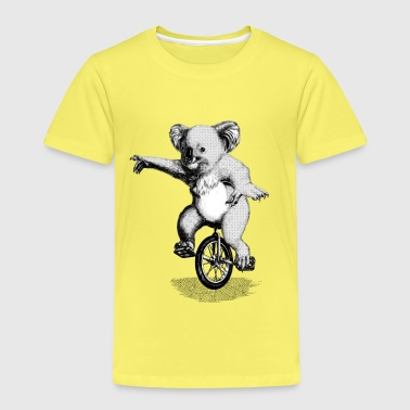 Koala Unicycle - Kids' Premium T-Shirt