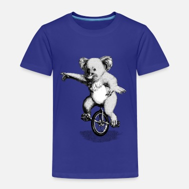 Koala Bear Koala Unicycle - Kids' Premium T-Shirt