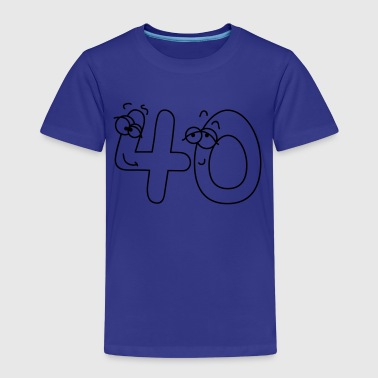 40 or forty - Kids' Premium T-Shirt