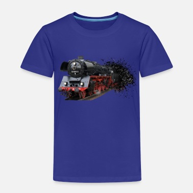 Steam Train locomotion - Kids' Premium T-Shirt