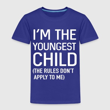 Siblings I'm the youngest child. No rules - Kids' Premium T-Shirt